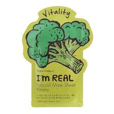 I'm Real Broccoli Mask Sheet [TonyMoly]
