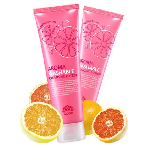 Aroma Washable Cleansing Lotion [Lioele]