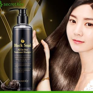 Black Snail All In One Treatment Shampoo [Secret Key]