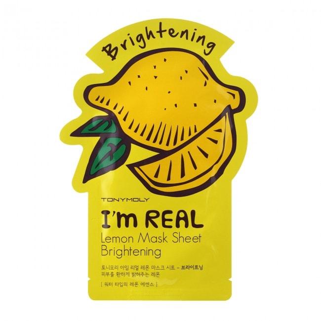 I'm Real Lemon Mask Sheet Brightening [TonyMoly]