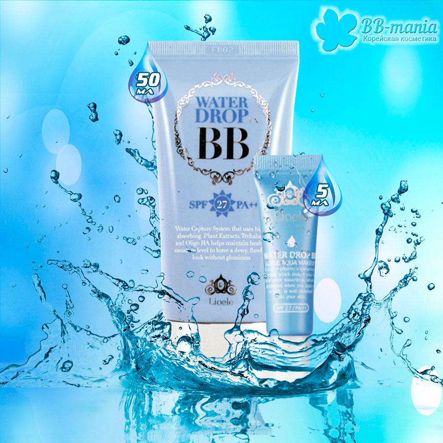 Water Drop BB, SPF 27 PA++ [Lioele]