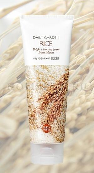 Daily Garden Icheon Rice Bright Cleansing Foam [Holika Holika]