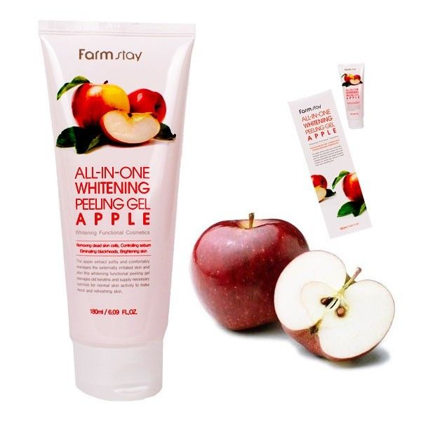 All-In-One Whitening Peeling Gel - Apple [FarmStay]