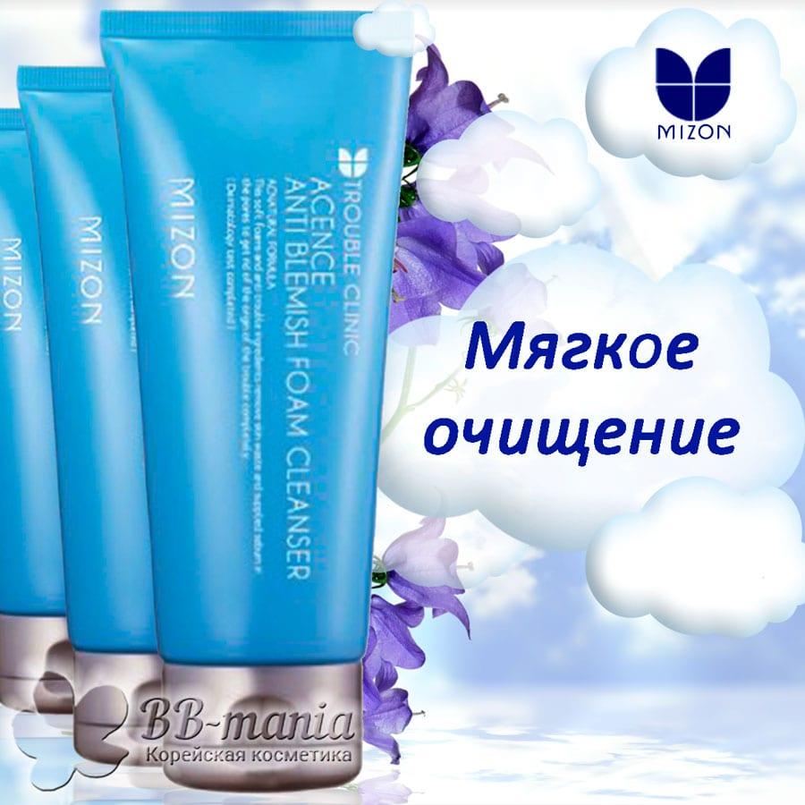 Acence Anti Blemish Foam Cleanser [Mizon]