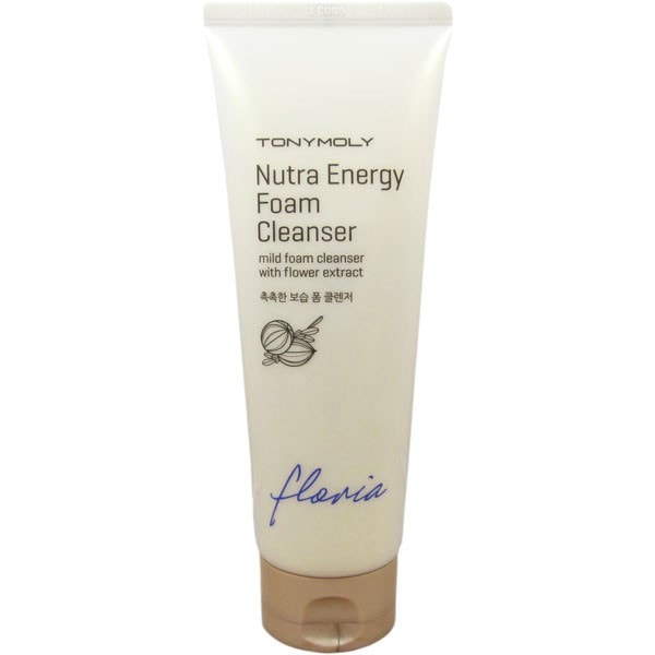 Floria Nutra-Energy Foam Cleanser [TonyMoly]