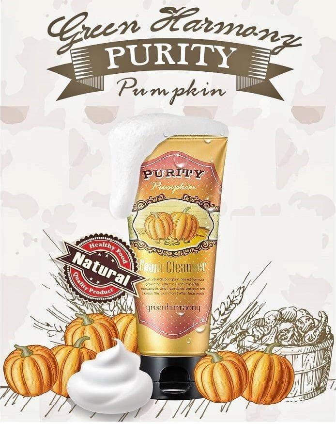 Green Harmony Purity Pumpkin Foam Cleanser [LadyKin]