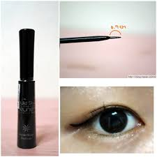 The Style Liquid Sharp Eyeliner [Missha]