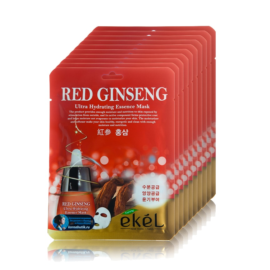 Red Ginseng Essential Mask [Ekel]