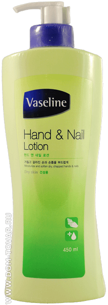 Vaseline Hand and Nail Lotion [Aekyung]