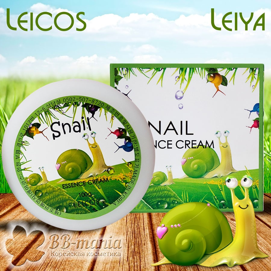 Snail Essence Cream [Leicos]