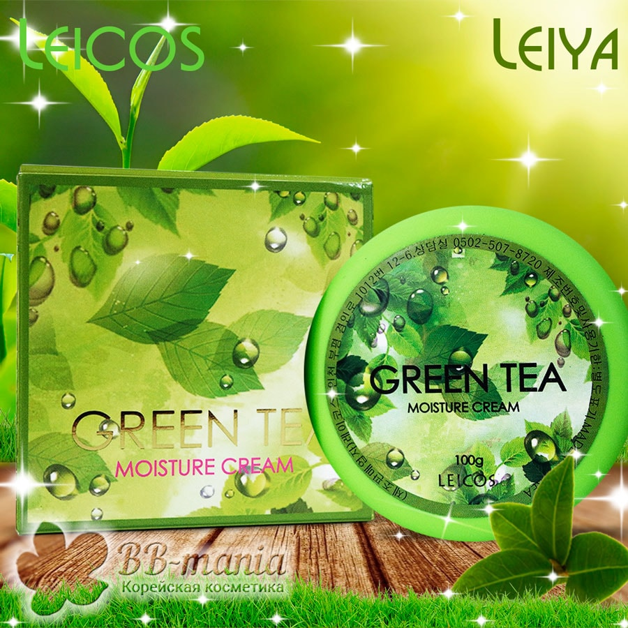 Green Tea Moisture Cream [Leicos]