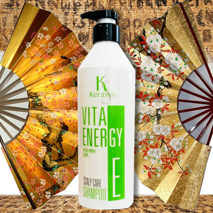 Vita Energy Scalp Care Shampoo Vitamin E [Kerasys]