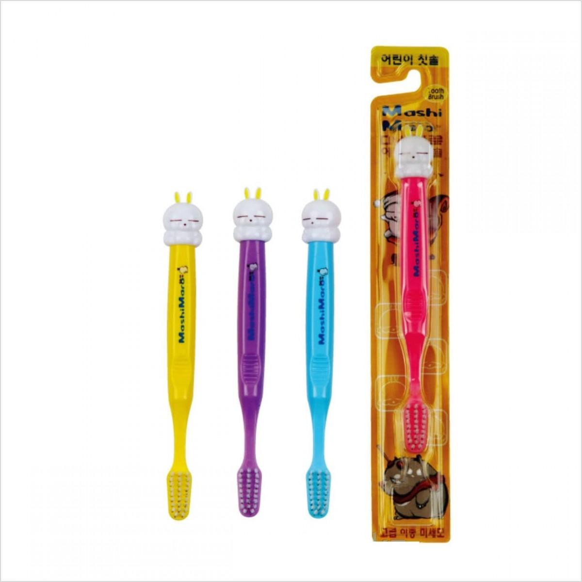 MashiMaro Character Kids Toothbrush [Kerasys]