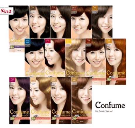 Confume Hair Color [Welcos]