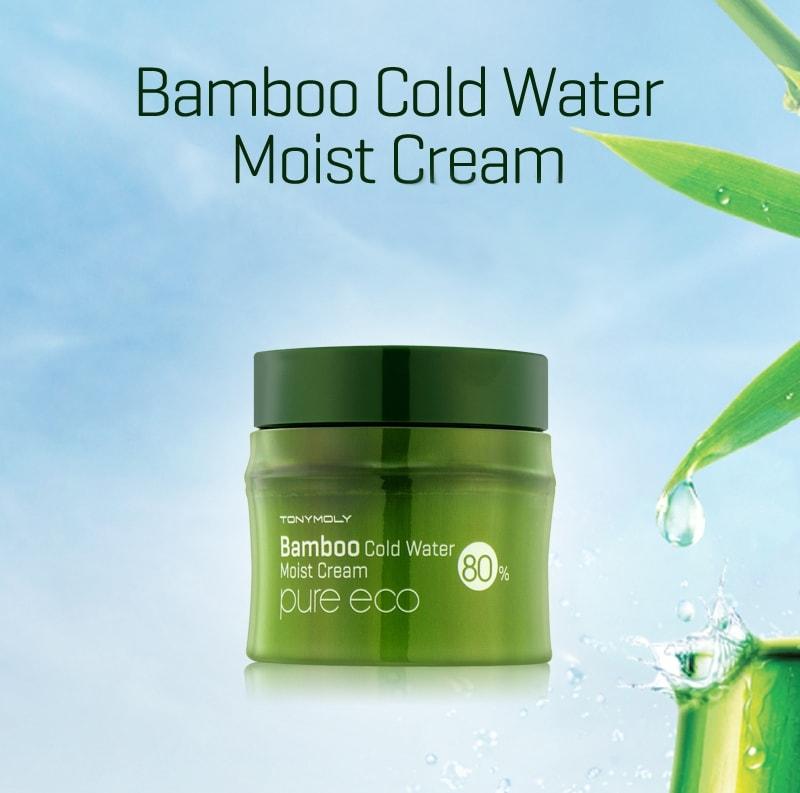 Bamboo Cold Water Moisture Cream [TonyMoly]