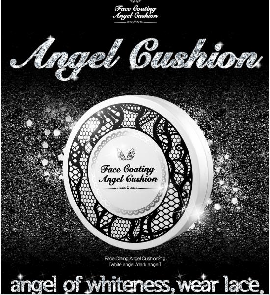 Face Coating Angel Cushion [Secret Key]