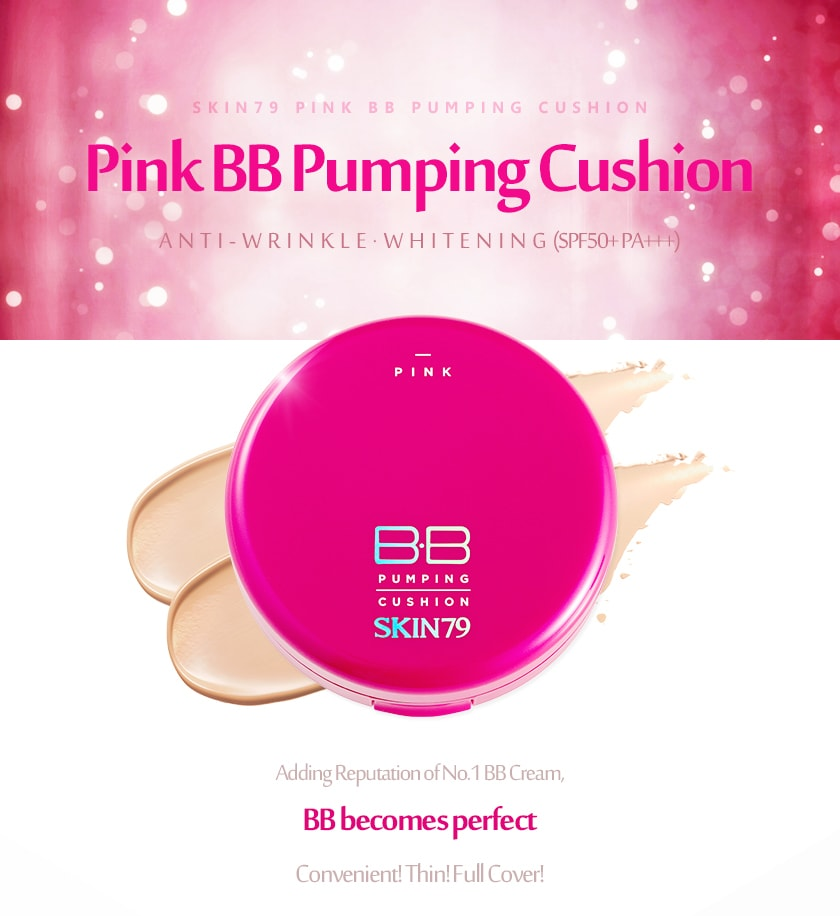 Pink BB Pumping Cushion [Skin79]