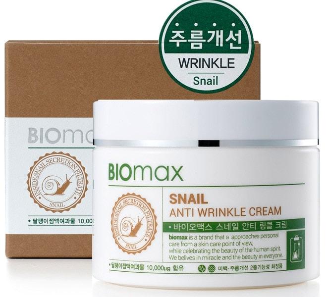Biomax Snail Anti Wrinkle Cream [Welcos]