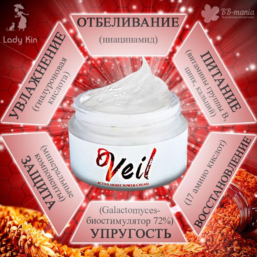 d' Veil Active Moist Power Cream [LadyKin]