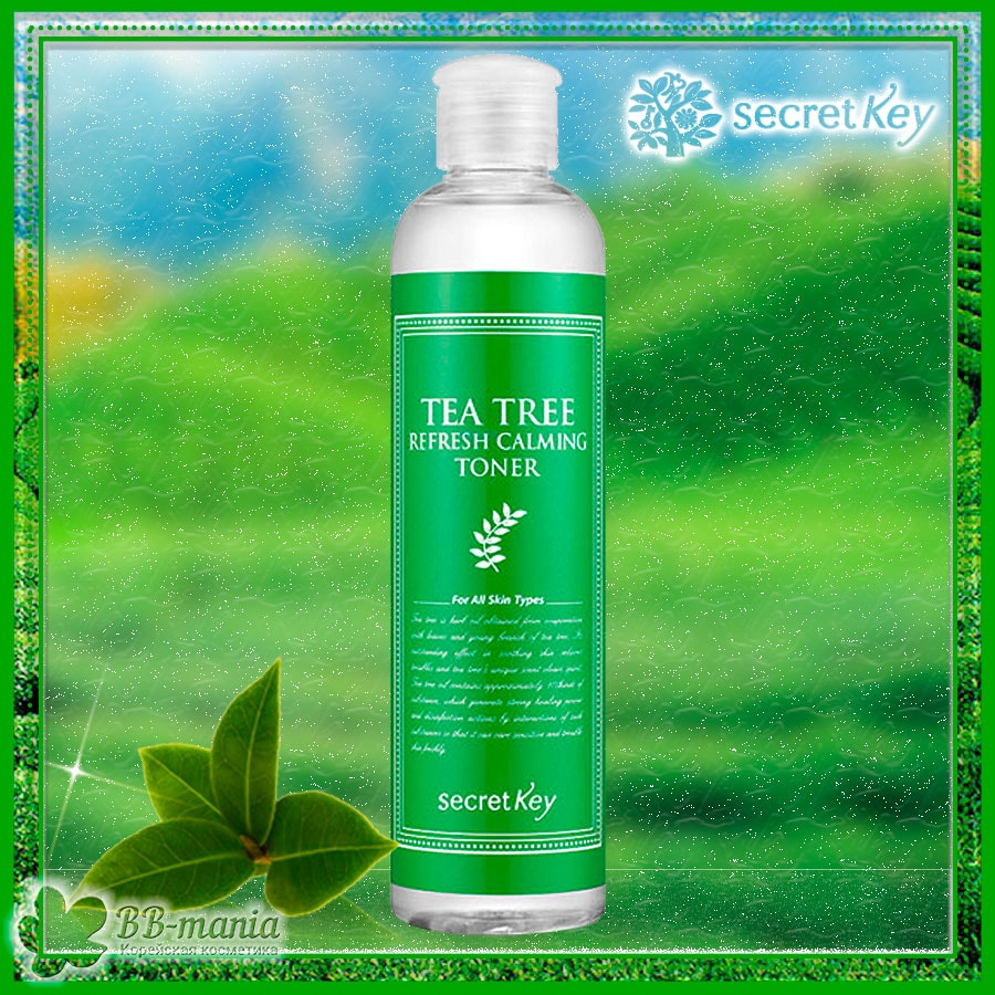 Tea Tree Refresh Calming Toner [Secret Key]