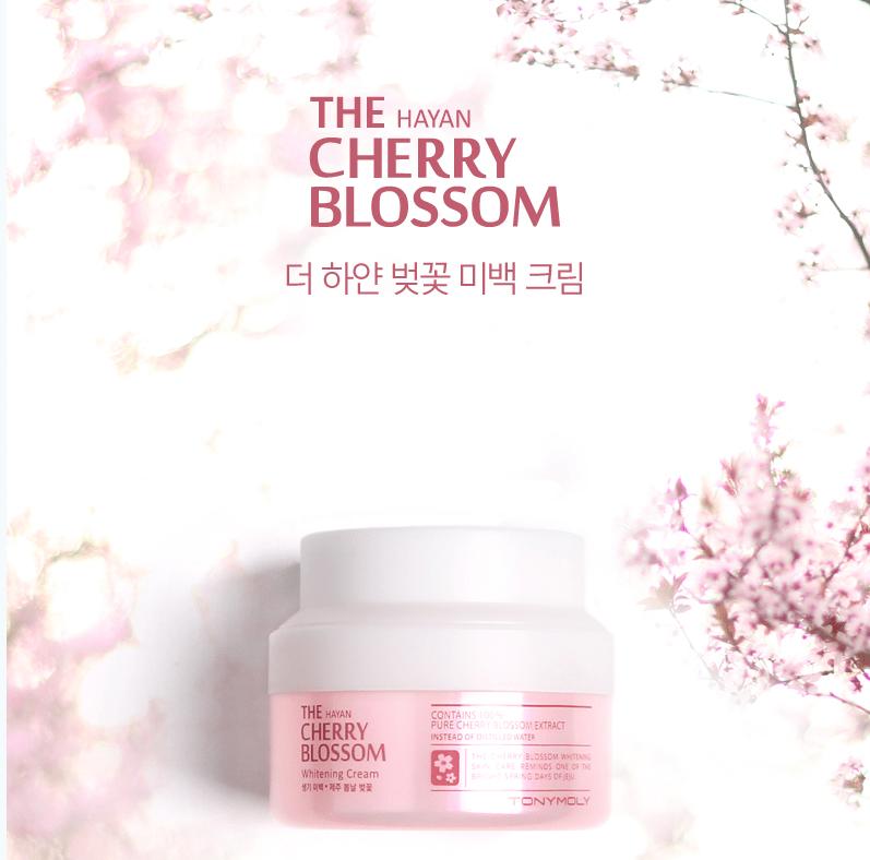 The Hayan Cherry Blossom Whitening Cream [TonyMoly]