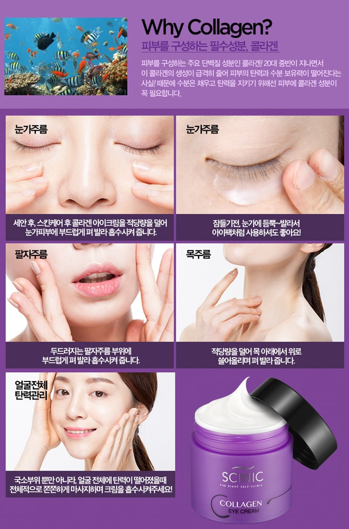 Collagen Eye Cream [Scinic]
