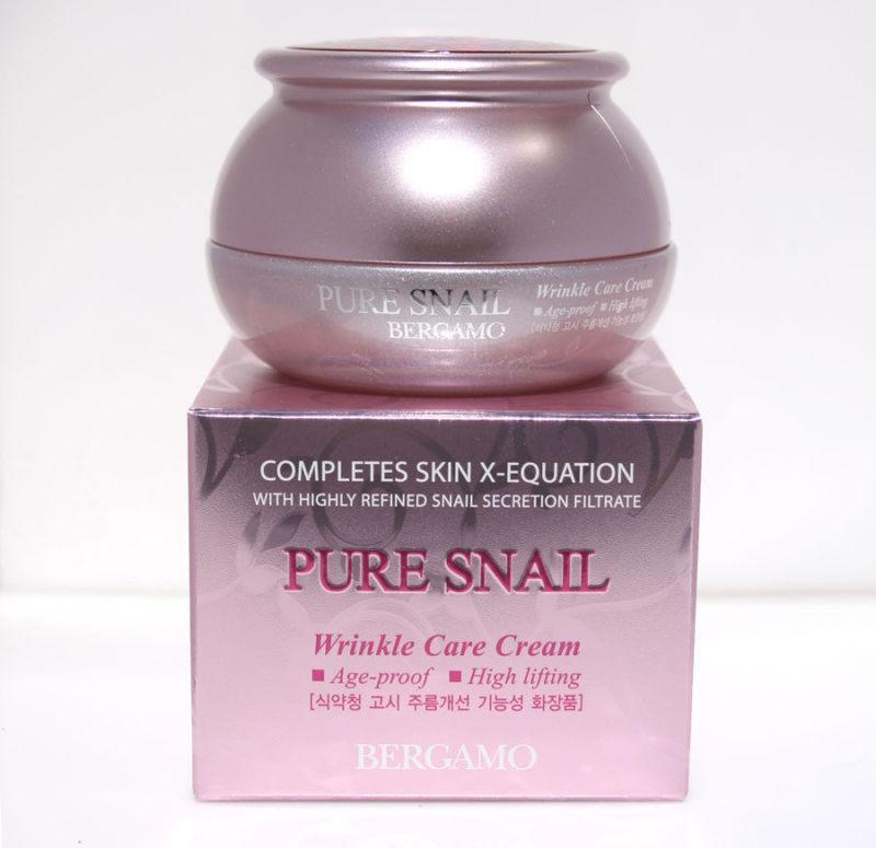 Pure Snail Wrinkle Care Cream [Bergamo]