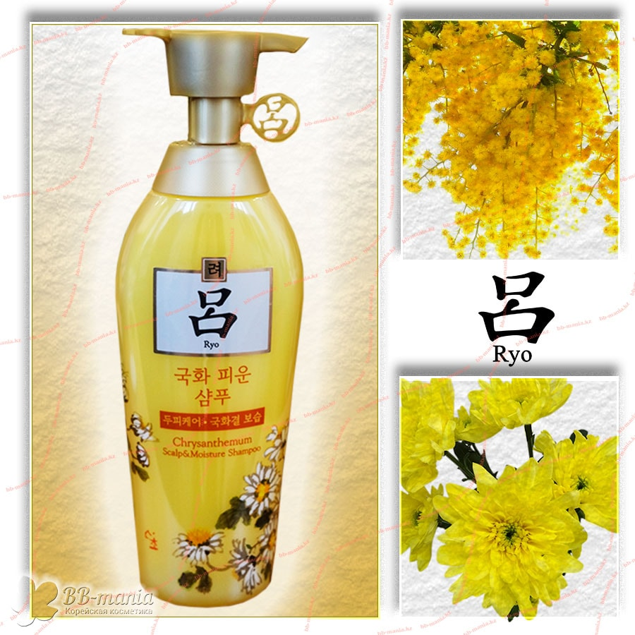 Chrysanthemum Scalp & Moisture Shampoo [Ryo]