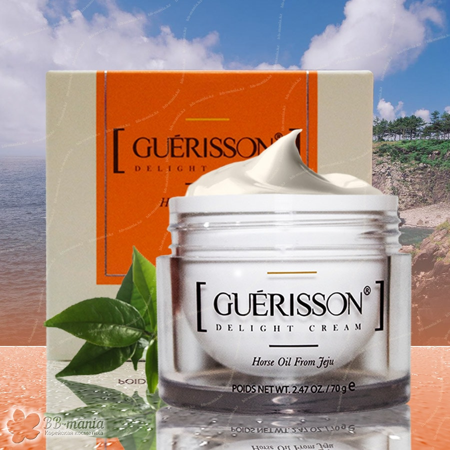 Guerisson Delight Cream Horse Oil From Jeju [Claire's Korea]