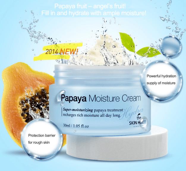 Hydra Papaya Moisture Cream [The Skin House]