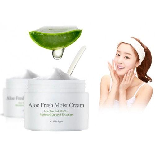 Aloe Fresh Moist Cream [The Skin House]