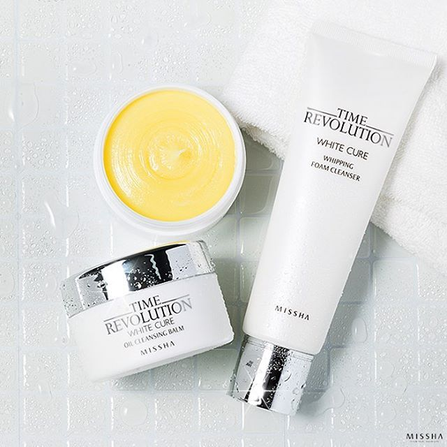 Time Revolution White Cure Oil Cleansing Balm [Missha]