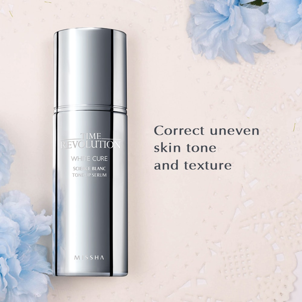 Time Revolution White Cure Science Blanc Tone-up Serum [Missha]
