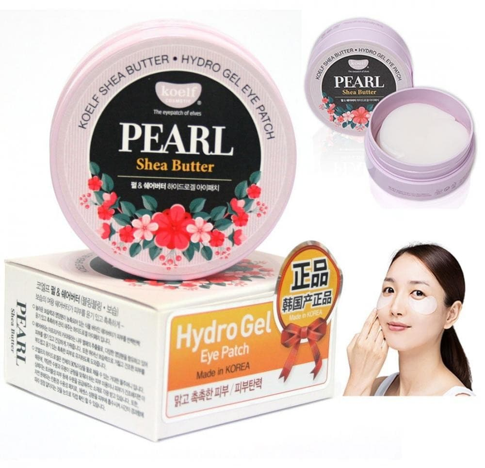 Pearl & Shea Butter Hydro Gel Eye Patch [Koelf]