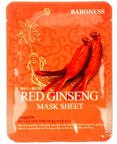 Red Ginseng Mask Sheet [Baroness]