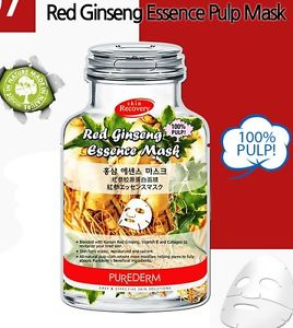 Red Ginseng Essence Mask [Purederm]