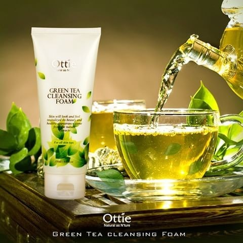 Green Tea Cleansing Foam [Ottie]