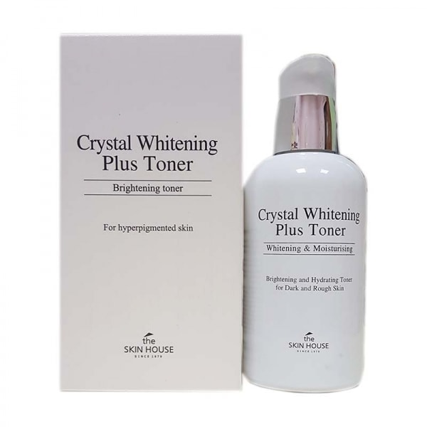 Crystal Whitening Plus Toner [The Skin House]