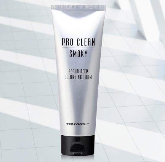 Pro Clean Smoky Scrub Deep Cleansing Foam [TonyMoly]