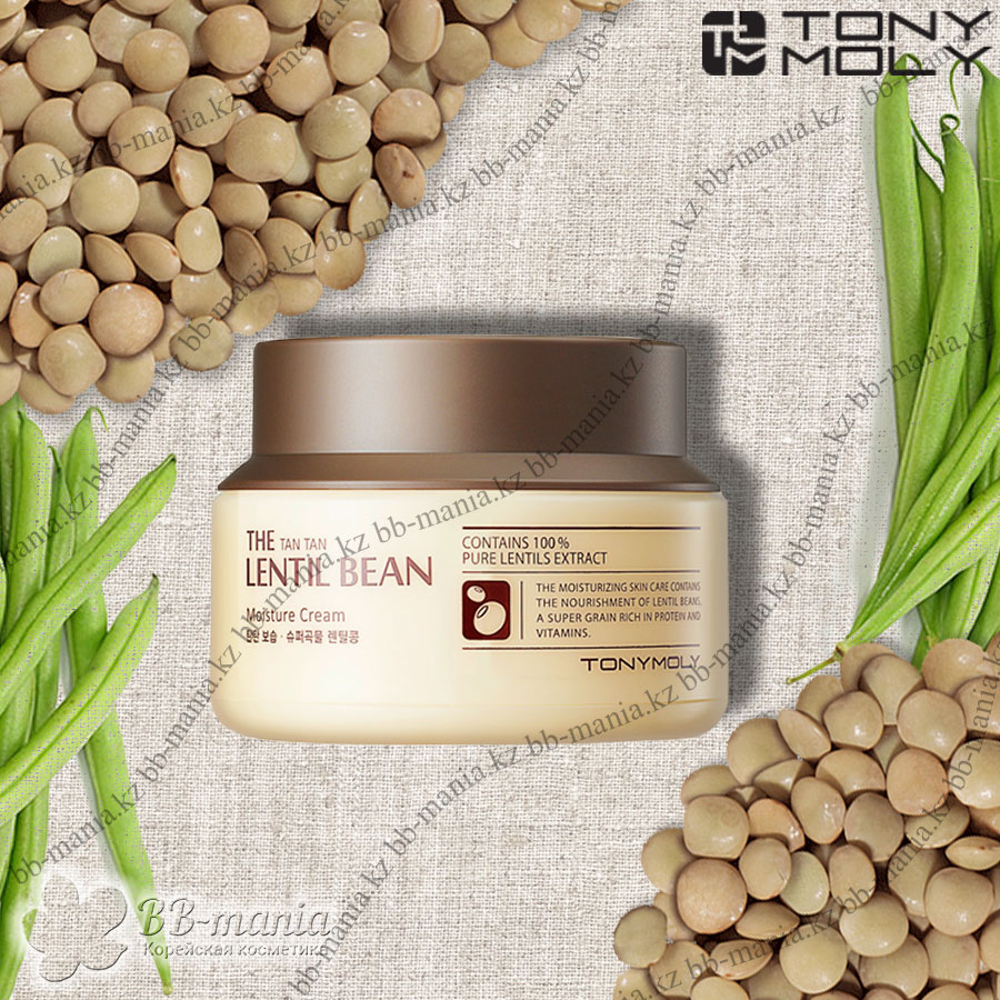 The Tan Tan Lentil Bean Moisture Cream [TonyMoly]