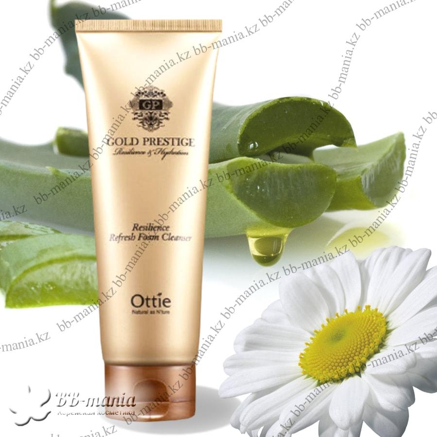 Gold Prestige Resilience Refresh Foam Cleanser [Ottie]