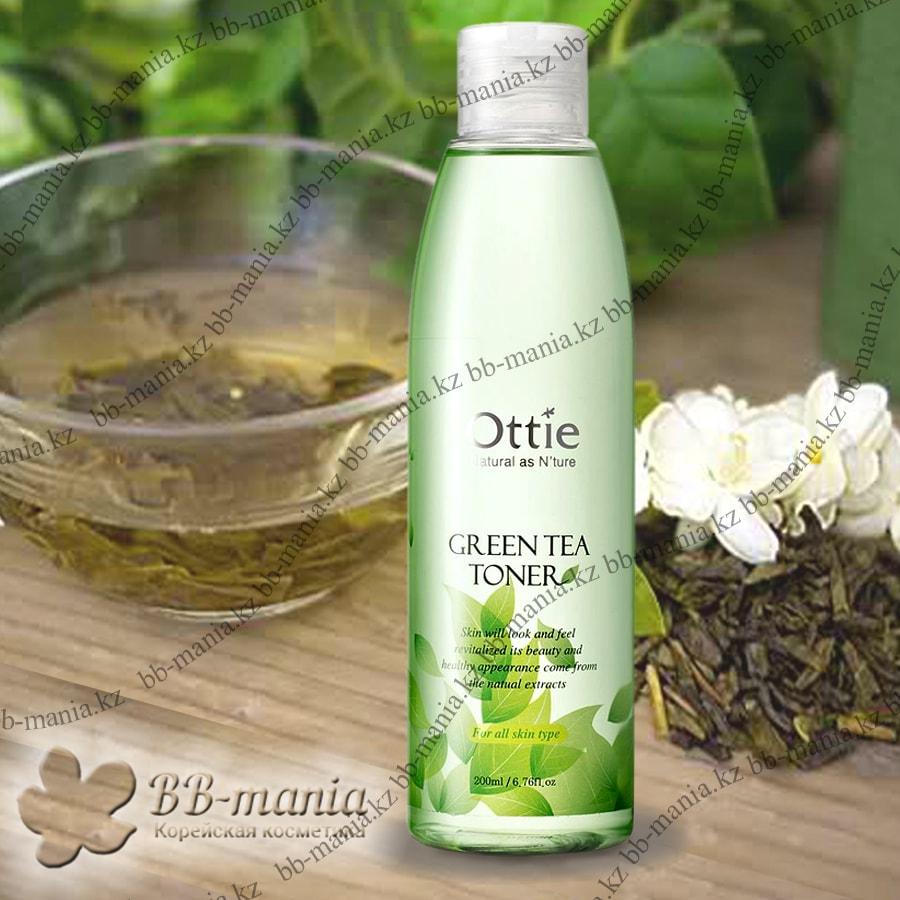Green Tea Toner [Ottie]