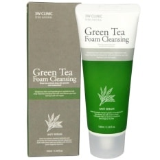 Green Tea Foam Cleansing Anti Sebum [3W CLINIC]