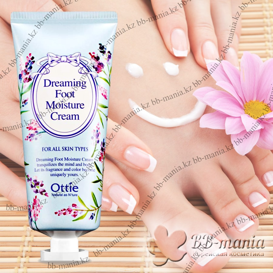 Dreaming Foot Moisture Cream [Ottie]