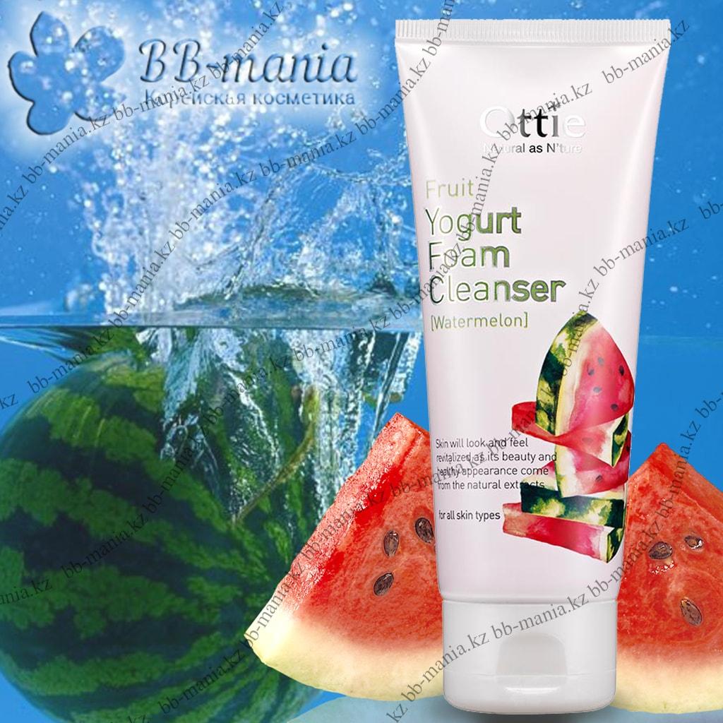 Fruits Yogurt Foam Cleanser Watermelon [Ottie]