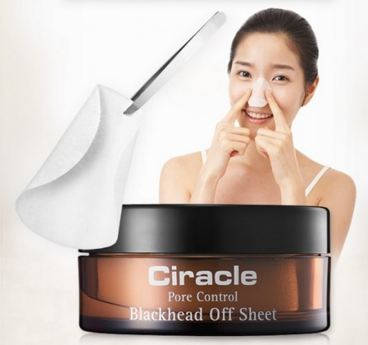 Pore Control Blackhead Off Sheet [Ciracle]