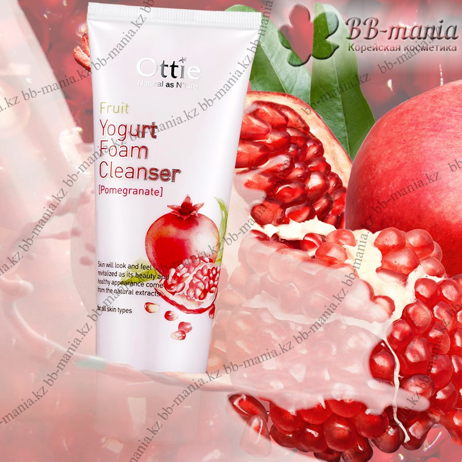 Fruits Yogurt Foam Cleanser Pomegranate [Ottie]