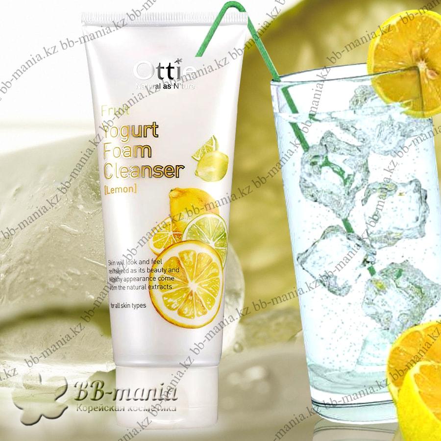 Fruits Yogurt Foam Cleanser Lemon [Ottie]