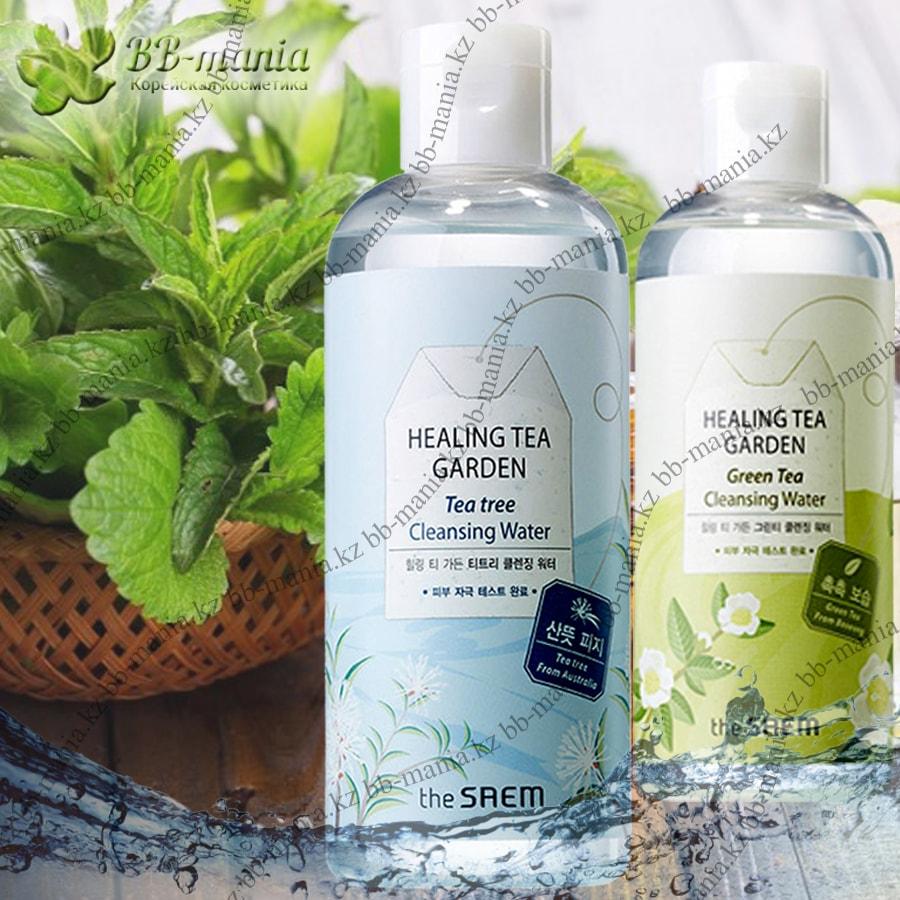 Healing Tea Garden Green Tea Cleansing Water [The Saem]