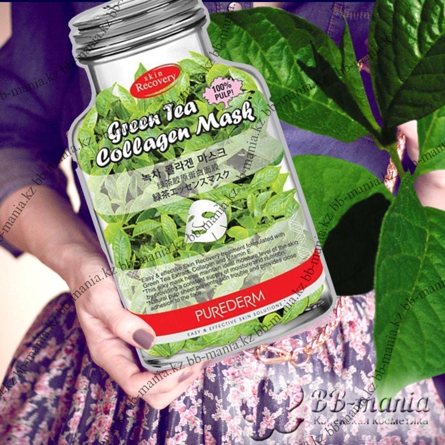 Green Tea Collagen Mask [Purederm]